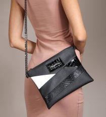 usnjena večerna torbica lui